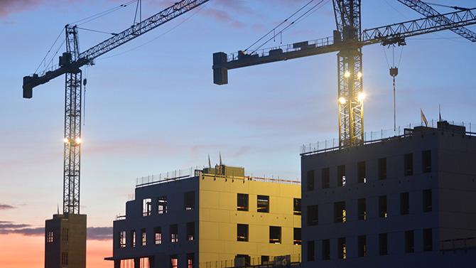 رشد صنعت ساخت و ساز